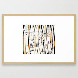 Crew Love Framed Art Print