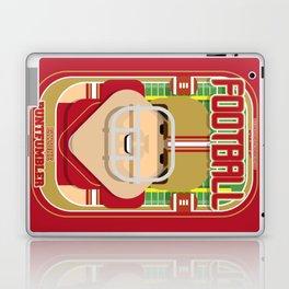 American Football Red and Gold - Enzone Puntfumbler - Bob version Laptop & iPad Skin