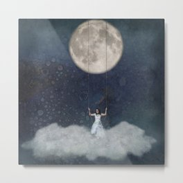 Lunar Playground Metal Print