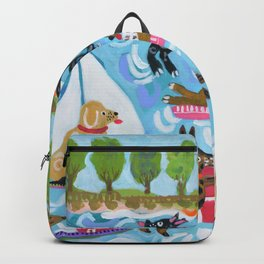 Dogs at Play Backpack