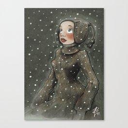 Winterwunder Canvas Print