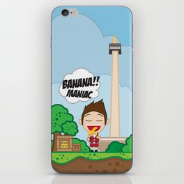 BANANA MANIAC iPhone Skin