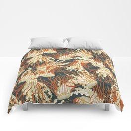 jellyfish slate Comforters
