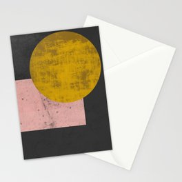 Gold moon Stationery Cards