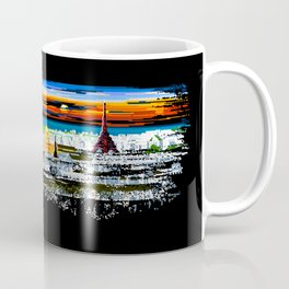 Invading Paris Space Coffee Mug