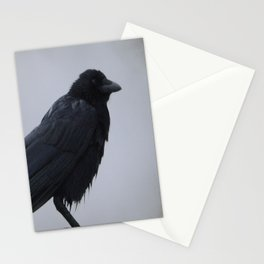 Wet Crow Stationery Cards