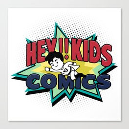 HEY!! KIDS COMICS Canvas Print