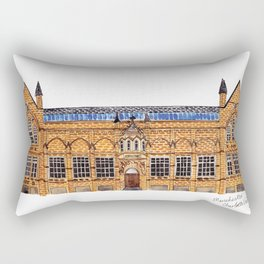 The Holden Gallery in Manchester by Charlotte Vallance Rectangular Pillow