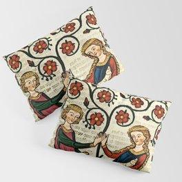 Codex Manesse: Bernger von Horheim Pillow Sham