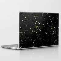 starry night Laptop & iPad Skins featuring Starry night by haroulita