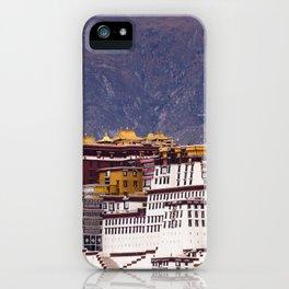 Tibet: Potala palace in Lhasa iPhone Case