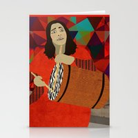 mercedes Stationery Cards featuring Folklore by Design4u Studio
