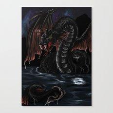 Sea Serpent - Bakunawa Canvas Print