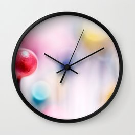 A pincushion in a very colorful mood... Wall Clock