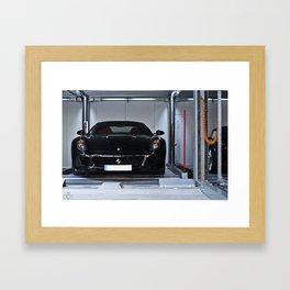 Car Ferrari 599 GTB Meilenwerk Framed Art Print