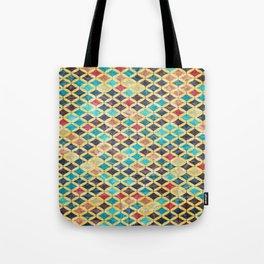 Colorful Geometric Pattern #02 Tote Bag