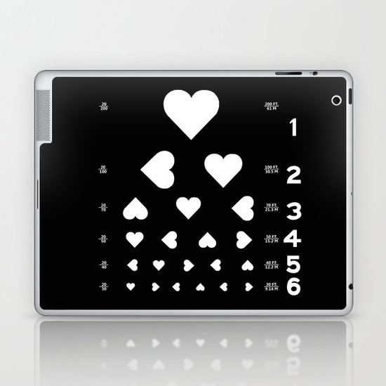 Can you see the love? Laptop & iPad Skin