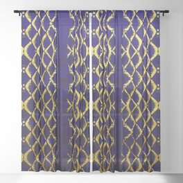 Royal Mermaid Sheer Curtain