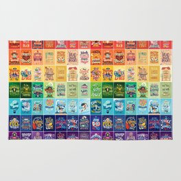 Rainbow of Posters Rug