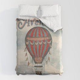 La Aventura Espera (Adventure Awaits in Spanish) Comforters