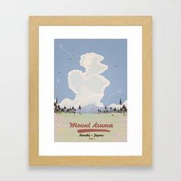 Mount Asama Honshū Japan Framed Art Print