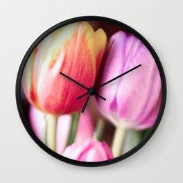 Tulips 34 Wall Clock