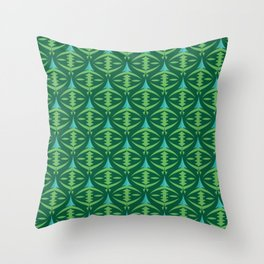 Forest Guardians Pattern Throw Pillow
