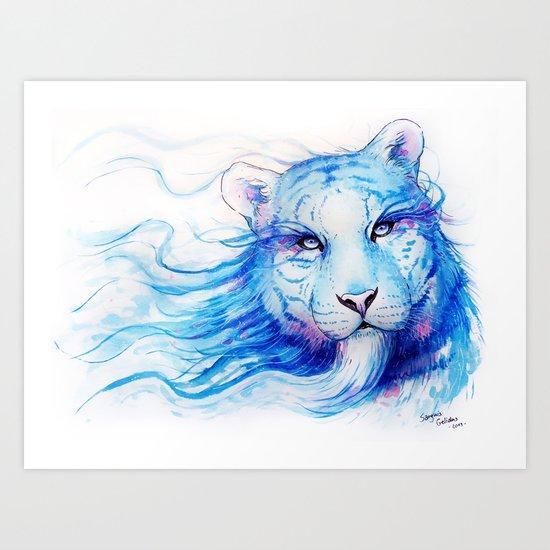 """Spirits of the Seasons - Winter"" Art Print"