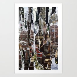 Mahogany/Monogamy Art Print