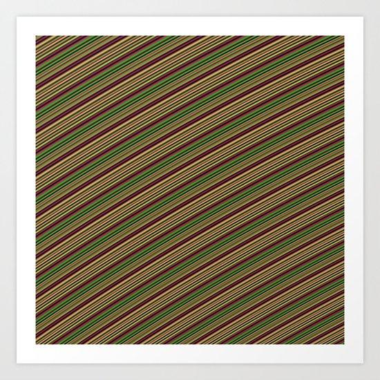 Liney Lines Art Print