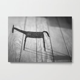 Iron Horse Metal Print