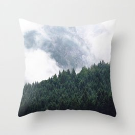The Clearest Way Throw Pillow