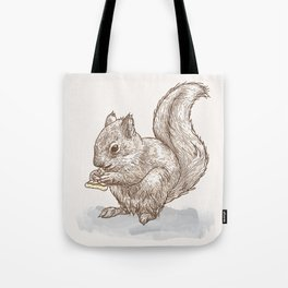 Pizza for All (Including Squirrels) Tote Bag