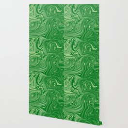 Green pastel abstract marble Wallpaper