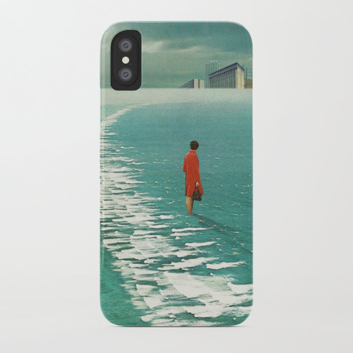 Waiting For The Cities To Fade Out iPhone Case