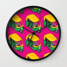 Kitsch Auto Wala Wall Clock