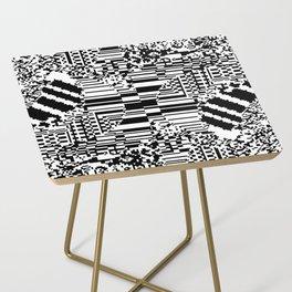 noisy pattern 10 Side Table