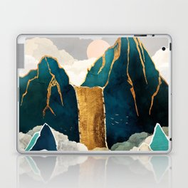 Golden Waterfall Laptop & iPad Skin
