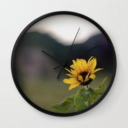 FLOWER OF SUN Wall Clock
