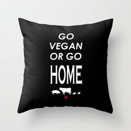 Save the slaughter Throw Pillow