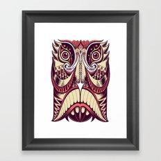 Spirit Mask Framed Art Print