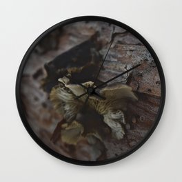 Rustic Nature Wall Clock