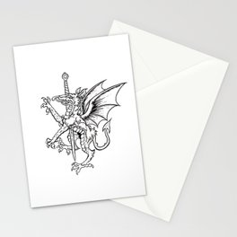 Logres Dragon Stationery Cards