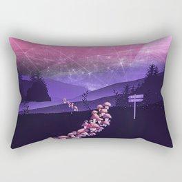 Mushroom Wanderlust Rectangular Pillow