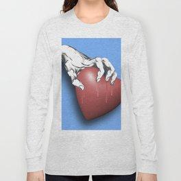 Heart Series Love Clawed Hearts Love Valentine Anniversary Birthday Romance Sexy Red Hearts Valentin Long Sleeve T-shirt
