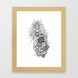 Medusa - play with me! Framed Art Print