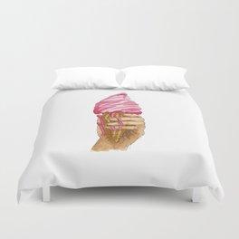Ice Cream, You Scream! Duvet Cover