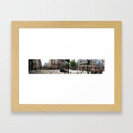 Central London Panorama #1 Framed Art Print