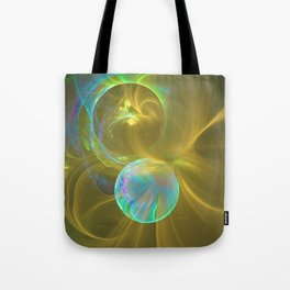 Eclipsing Spheres Tote Bag