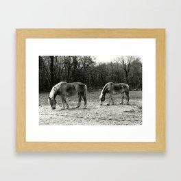 Ben and Bud Framed Art Print